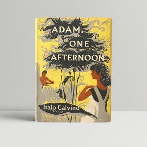 adam one afternoon italo calvino first edition1
