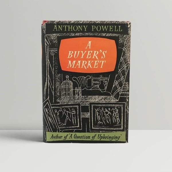 anthony powell a buyers market first edition1