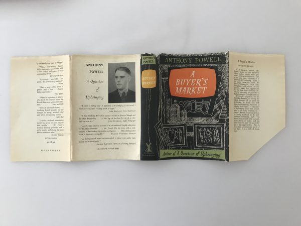 anthony powell a buyers market first edition4