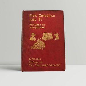 e nesbit five children and it first edition1