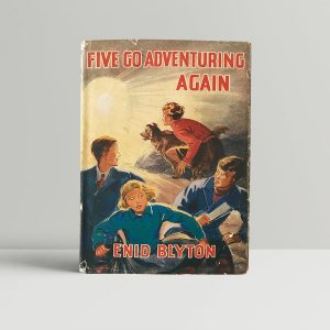 enid blyton five go adventuring again signed first edition1