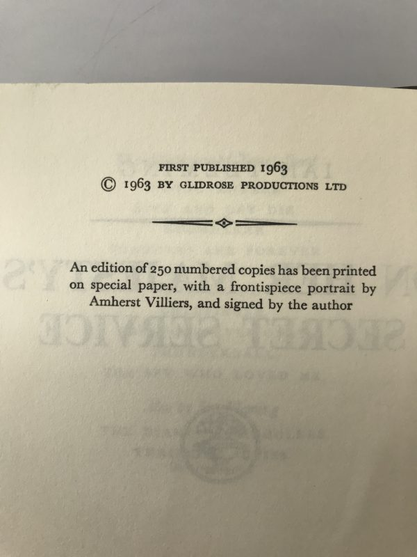 ian fleming on her majestys secret service first edition2