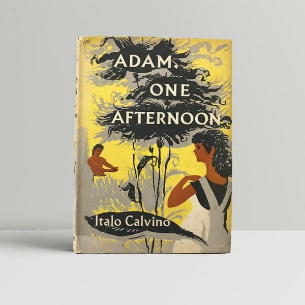 italo calvino adam one afternoon first edition1