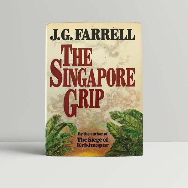 jg farrell the singapore grip first edition1