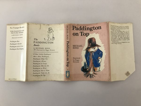 michael bond paddington on top first edition4