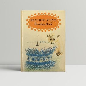 michael bond paddingtons birthday book first edition1