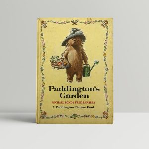 michael bond paddingtons garden first edition1