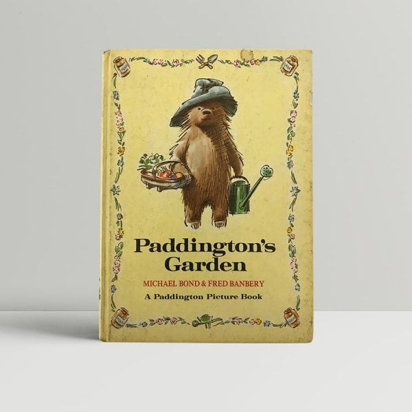michael bond paddingtons garden first edition1