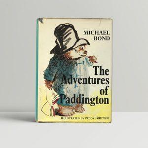 michael bond the adventures of paddington first edition1