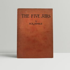 mr james the five jars signed first edition1