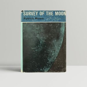 patrick moore survey of the moon first edition1