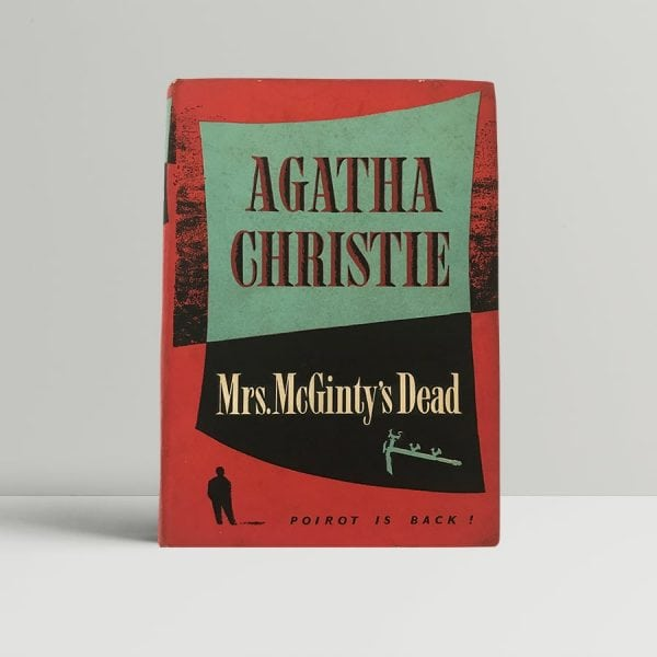agatha christie mrs mcgintys dead first edition1