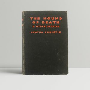 agatha christie the hound of death first edition1