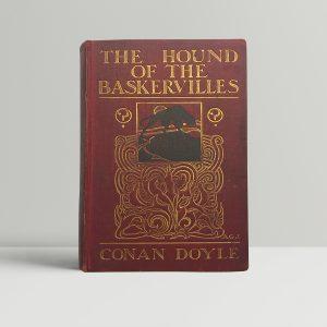 arthur conan doyle hound of the baskervilles first edition1