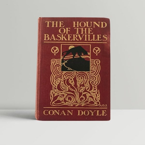 arthur conan doyle the hound of the baskervilles first edition1