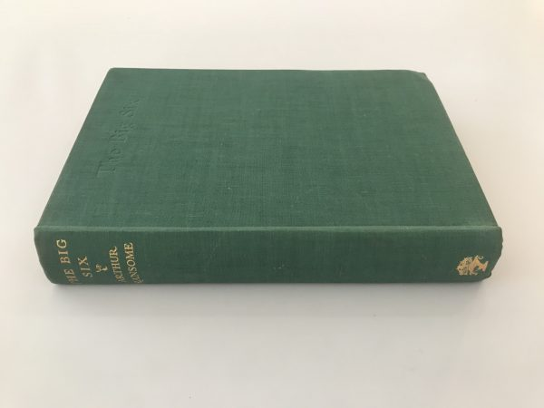 arthur ransome the big six first edition3