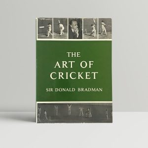 don bradman the art of cricket signed first edition1