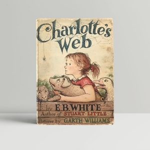 eb white charlottes web first edition1