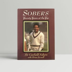 garfield sobers sobers signed first edition1