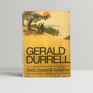 gerald durrell birds beasts and relatives signed first edition1