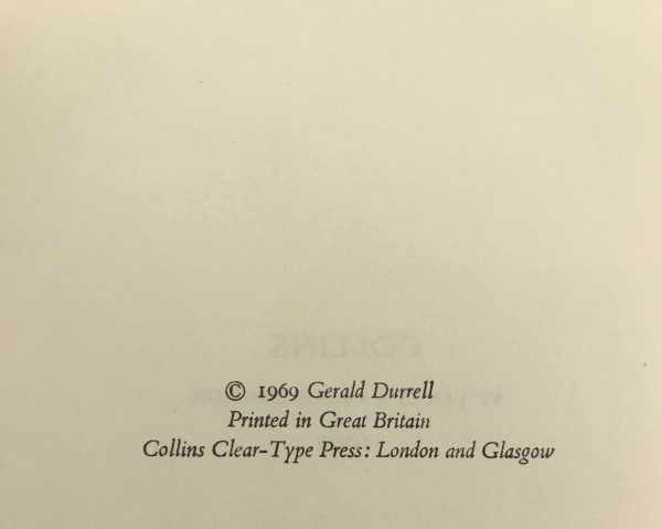 gerald durrell birds beasts and relatives signed first edition3