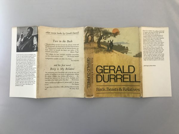 gerald durrell birds beasts and relatives signed first edition4