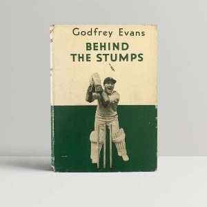 godfrey evans behind the stumps signed book1