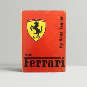 hans tanner the ferrari first edition1