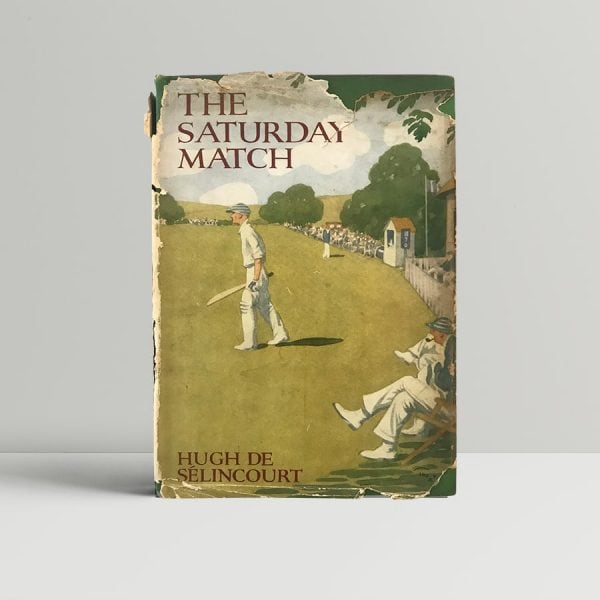 hugh de selincourt the saturday match first edition1