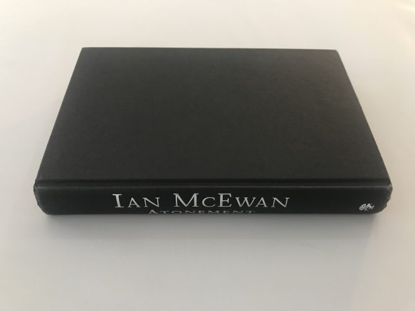 ian mcewan atonement signed first edition4