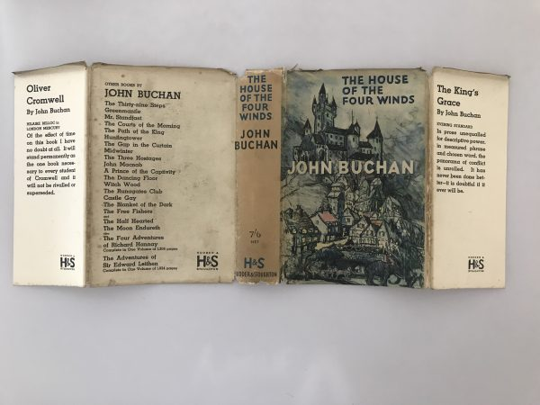 john buchan the house of the four winds first edition4