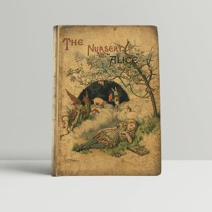 lewis carroll the nursery alice fisrt edition1