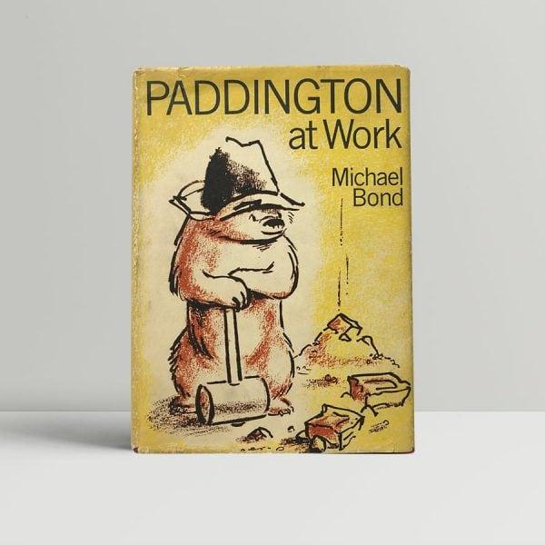 michael bond paddington at work first edition1