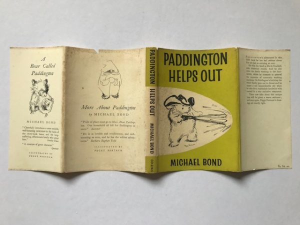 michael bond paddington helps out first edition4