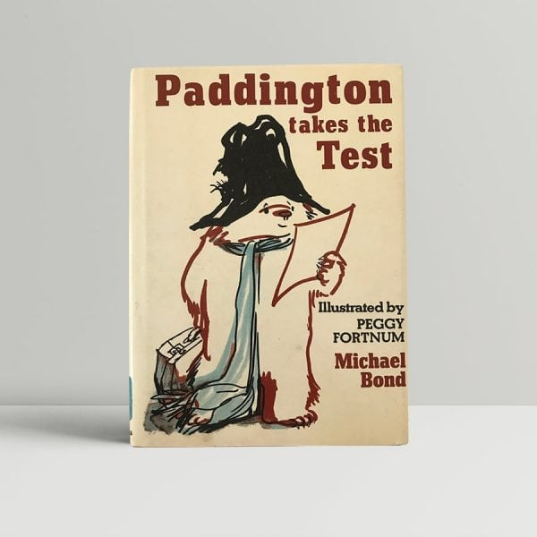 michael bond paddington takes the test first edition1