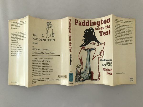 michael bond paddington takes the test first edition4