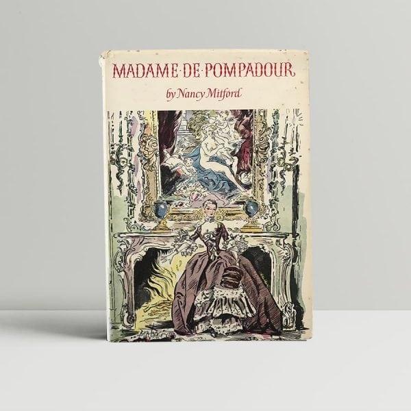 nancy mitford madame de pompadour first edition1