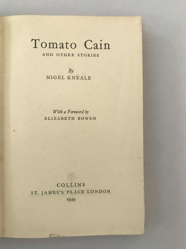 nigel kneale tomato cain first edition2