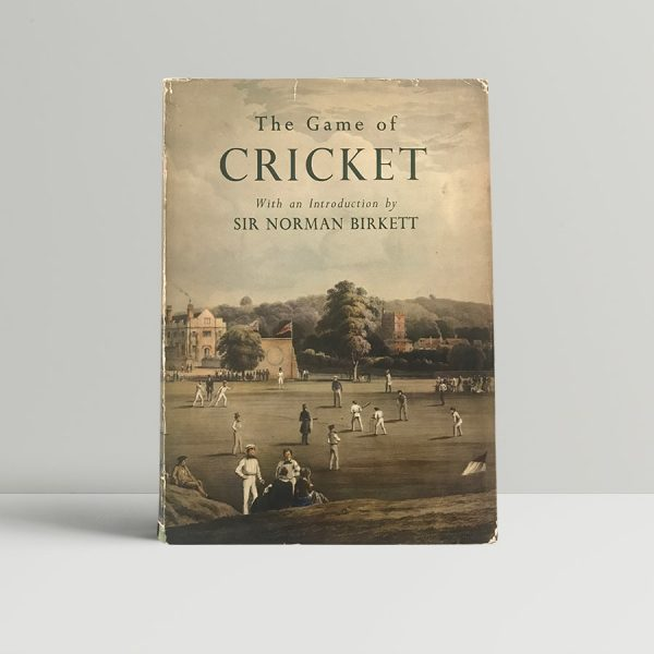 norman birkett the game of cricket signed first edition1