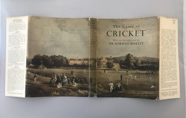 norman birkett the game of cricket signed first edition4