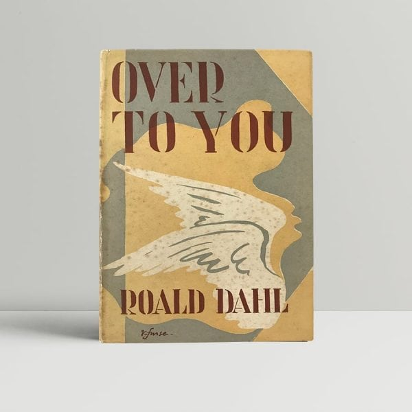 roald dahl over to you first edition1