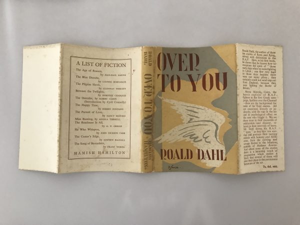roald dahl over to you first edition4