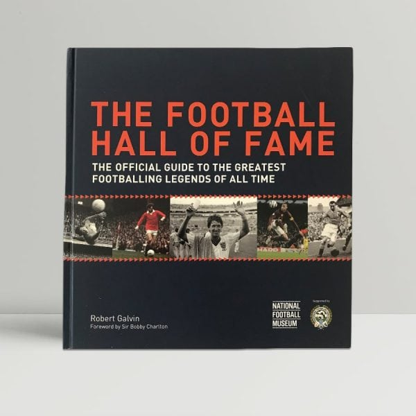 robert galvin the football hall of fame signed first edition1