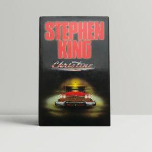 stephen king christine 1st edition1