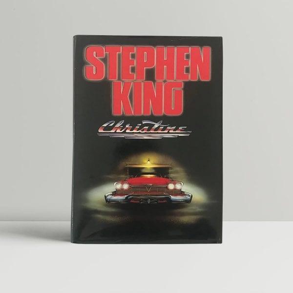 stephen king christine first edition1