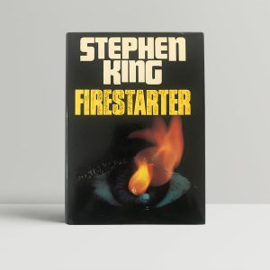 stephen king firestarter first edition1
