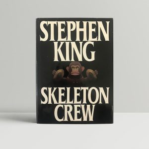 stephen king skelton crew first us edition1