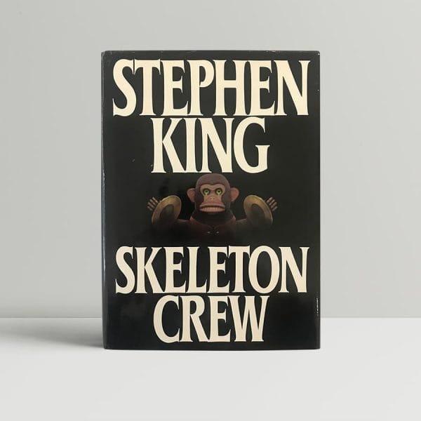 stephen king skelton crew first us edition1