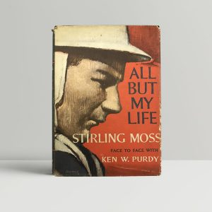 stirling moss all but my life first edition1 1