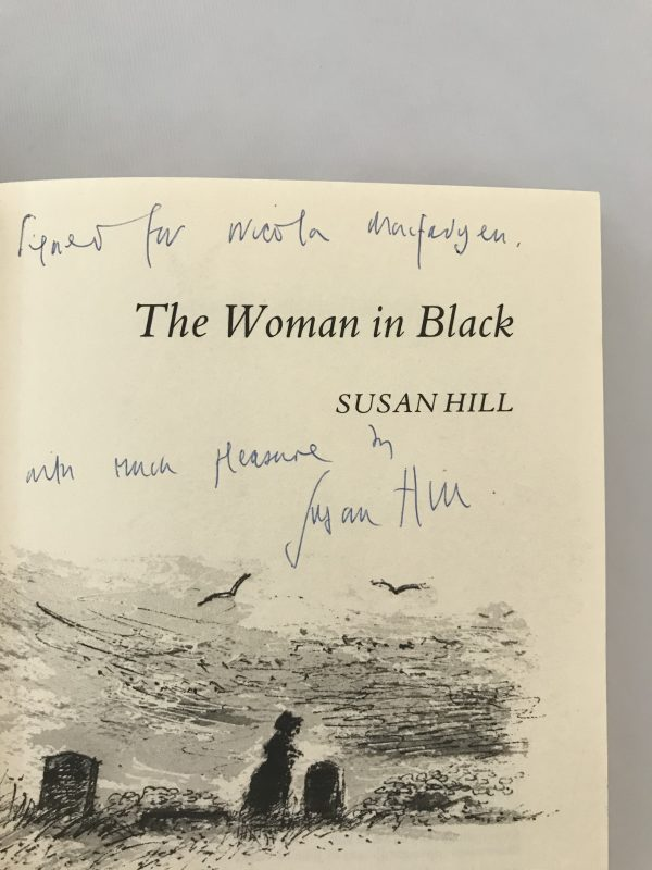 susan hill the woman in black signed first edition2